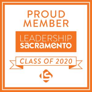 Proud Member Leadership Sacramento Class of 2020